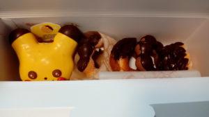 ピカチュウとその他ドーナツ